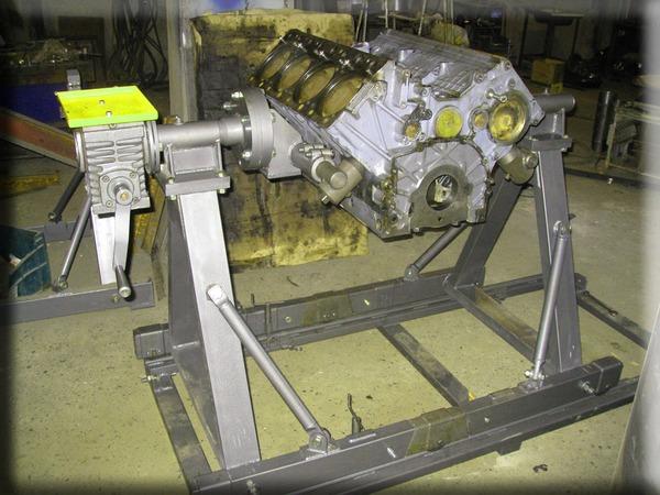 Стенд для сборки двигателя камаз своими руками